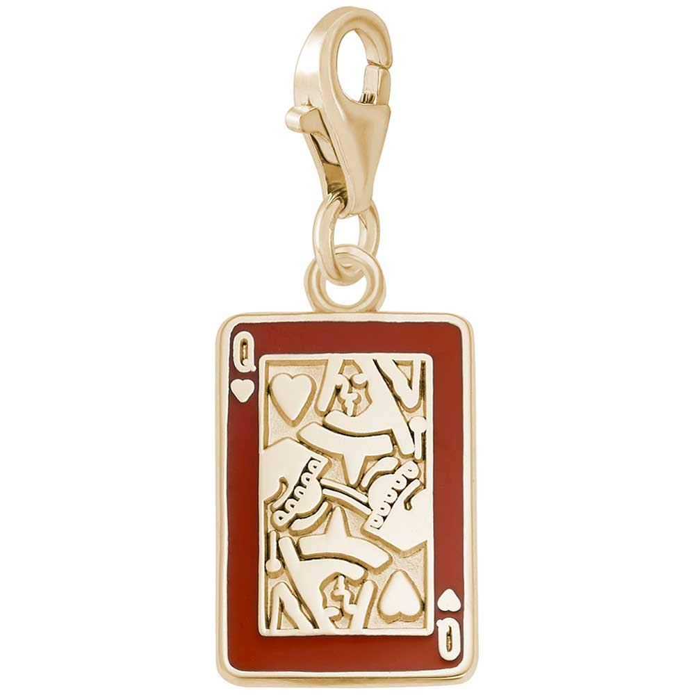 Rembrandt Charms Queen of Hearts Charm