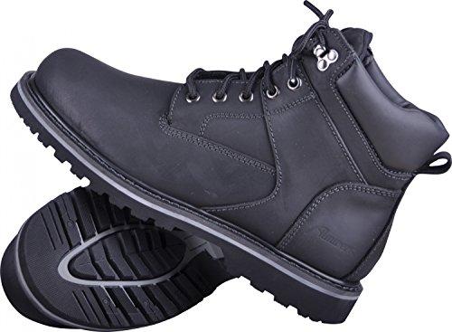 Almwerk Unisex Herbst-Winter-Schuhe Damen und Herren mit oder ohne Fütterung, Farbe:Schwarz;Schuhgröße:46