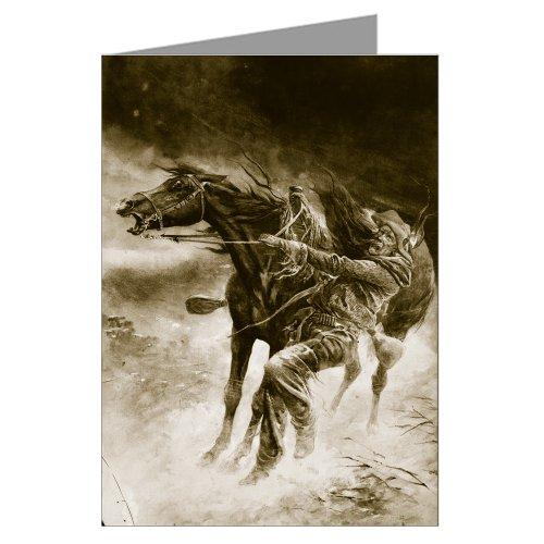 1911 Painting - Twelve Vintage Cowboy Art Notecards of Frank Feller's 1911 painting