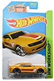 Hot Wheels, 2015 HW Workshop, '13 Hot Wheels Chevy Camaro Special Edition [Yellow] Die-Cast Vehicle #232/250