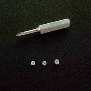 Y0 6 Tri Point Y000 Tri Wing Screwdriver Bit Comes With 30pcs 0 9mm Tri Point Screws Kit For Iphone 7 7 Plus Iphone X 8 8 Plus Amazon Com Safely sealed in hard paper box. y0 6 tri point y000 tri wing
