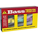 Behringer Tpk988 Bass Trio  Overdrive, Limiter/Enhancer And Chorus Effects Pedals For Bass Guitar