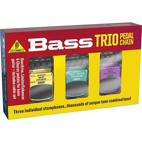 Behringer Bass Effects Pedal - 4