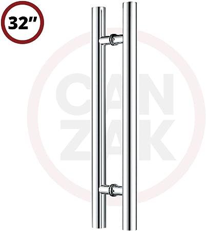 LONG SLEEK MODERN Pull D Handles POLISHED CHROME|330mm Interior Door//Wardrobe
