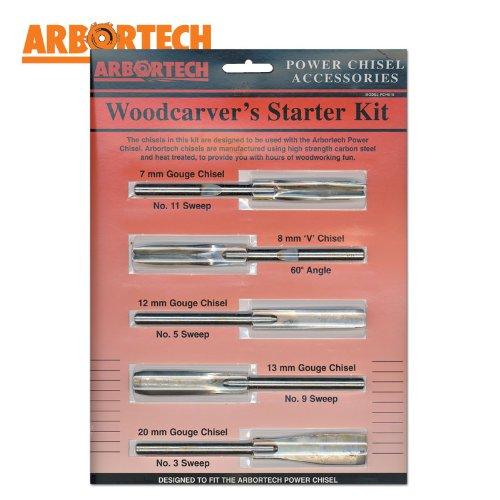 Woodcarvers Starter Kit (5 Piece)