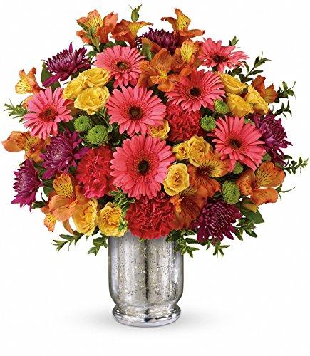 Plaza Flowers Fruit Punch Flower Arrangement Premium