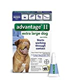 Advantage II for Dogs Over 55 lbs - 6 pack