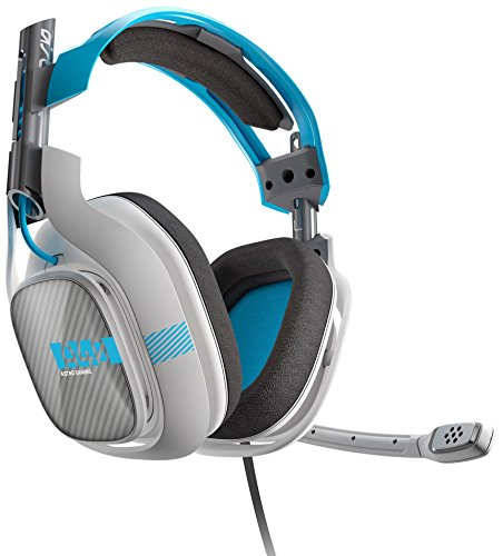 ASTRO Gaming A40 Headset + Mixamp M80 - Light Grey/Blue - Xbox One (2014 model) (Certified Refurbished)