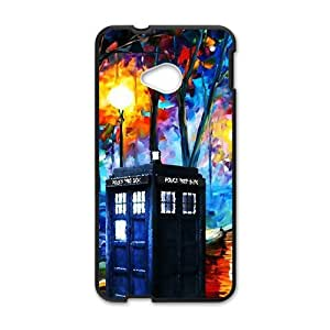 Happy Doctor Who unique pavilion Cell Phone Case for HTC One M7