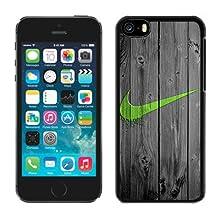Just Do it Nike logo image Custom iphone 5C Individualized Hard Case TPU black rob style 128k