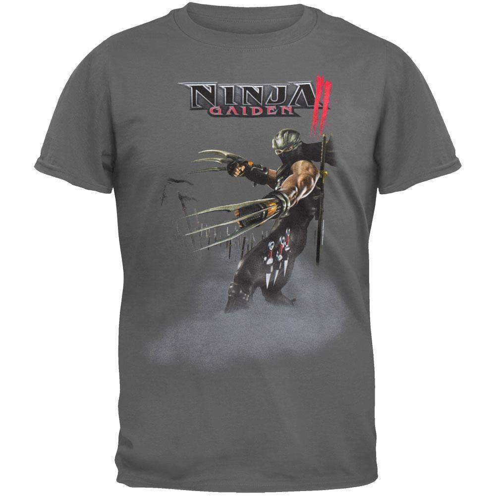 Ninja Gaiden camiseta para hombre, color fog Gris gris ...