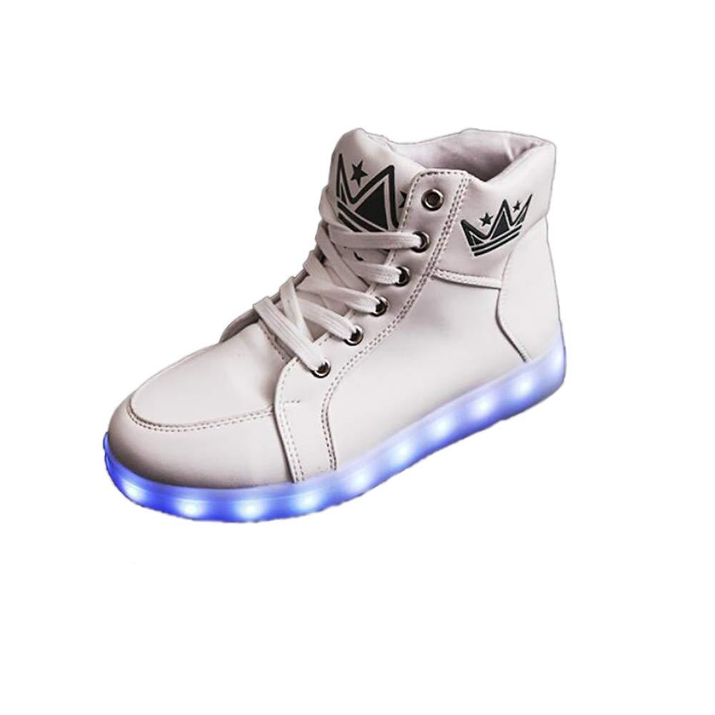 MhC Unisex Schuhe PU (Polyurethan) LED Schuhe Frühling/Herbst Komfort/Krippe Schuhe/Knöchelriemen Turnschuhe Basketball Schuhe/Fitness & Cross Trainingsschuhe