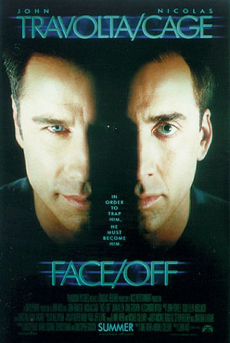 Face/Off - Movie Poster (Size: 27'' x 40'')