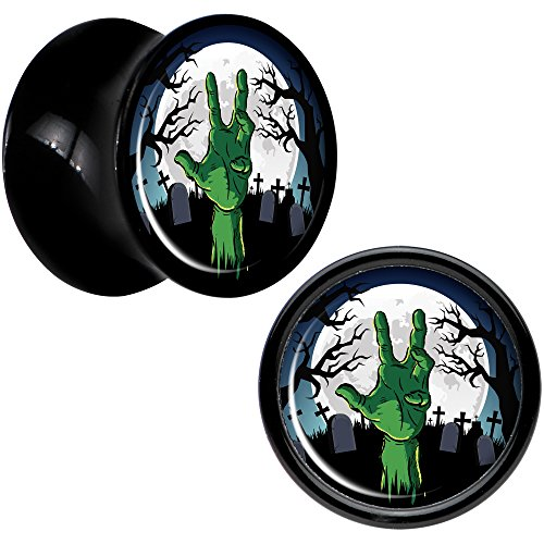 00 gauges plugs zombies - 2