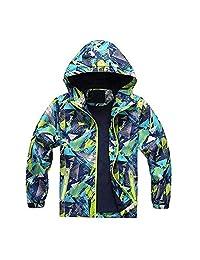 Baby Toddler Boys Girls Fall Winter Clothes Hoodie Jacket Overcoat 2-7 Years Old Kids Outdoor Waterproof Coat