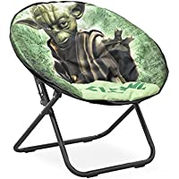 Disney Star Wars Yoda Tween Saucer Chair, Green