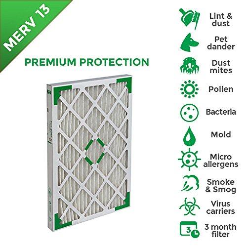 furnace filter 16x20x4 merv 13 - 6