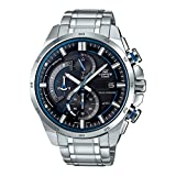 Casio Edifice Analog Black Dial Men's Watch - EX377 (EQS-600D-1A2UDF)