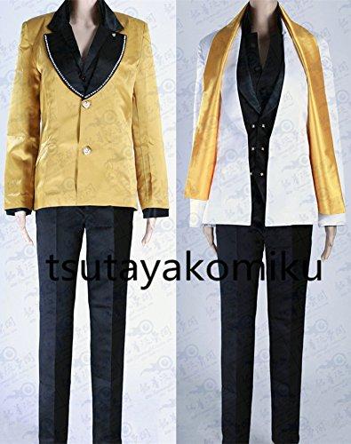 「ノーブランド品」Fate/Grand Order 概念礼装 黄金と太陽の勝負師 ギルガメッシュ コスプレ 衣装 1着