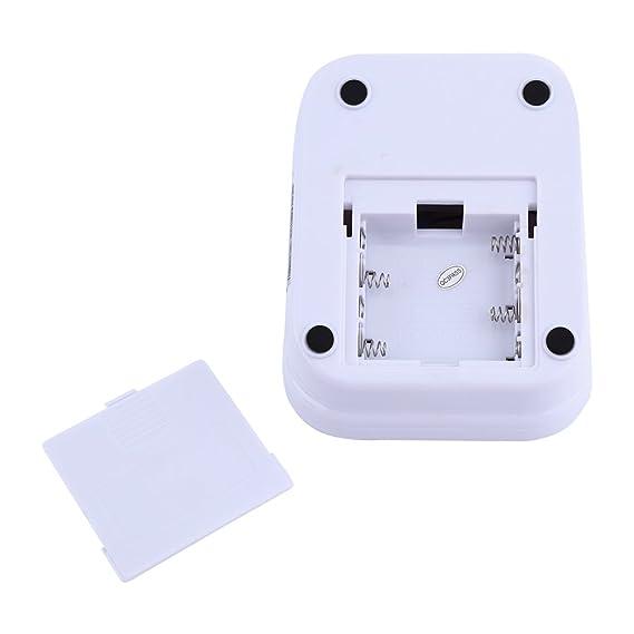 ... de pulso Heartbeat Detector automáticamente electrónico con pantalla digital LCD grande, ajustable - Tensiómetro de brazo: Amazon.es: Electrónica