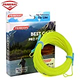Proberos Fly Line With Weight Forward Enhanced Welded Loop Floating Fly Fishing Line (Yellow,3F) For Sale