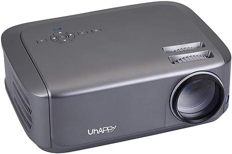 Mini proyector, proyector U68 LED para Videojuegos conectados a un ...