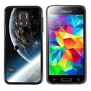 Stuss Case / Funda Carcasa protectora - Earth Nibiru Alien Planet Cosmos Universe Art - Samsung Galaxy S5 Mini, SM-G800, NOT S5 REGULAR!