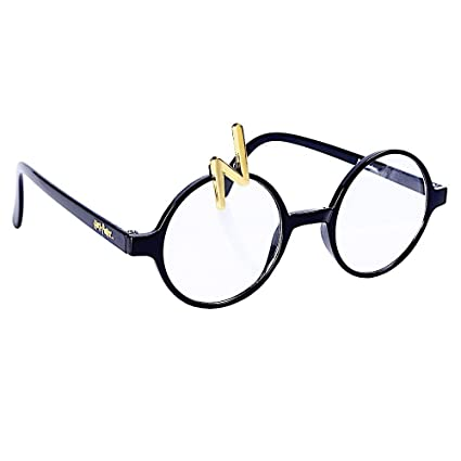 fd613ff495 Amazon.com  Costume Sunglasses Harry Potter Scar Glasses Sun-Staches ...