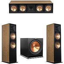 Klipsch 3.1 Cherry System with 2 RF-7 III Floorstanding Speakers, 1 RC-64 III Center Speaker, 1 Klipsch R-115SW Subwoofer