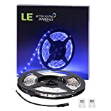 Lighting EVER Lampux 12V Flexible LED Strip Lights, Blue, 300 Units 3528 LEDs, Non-waterproof, Light Strips, 5m.