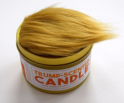 Anti-Trump Trump-Scented Candle, 16 oz tin