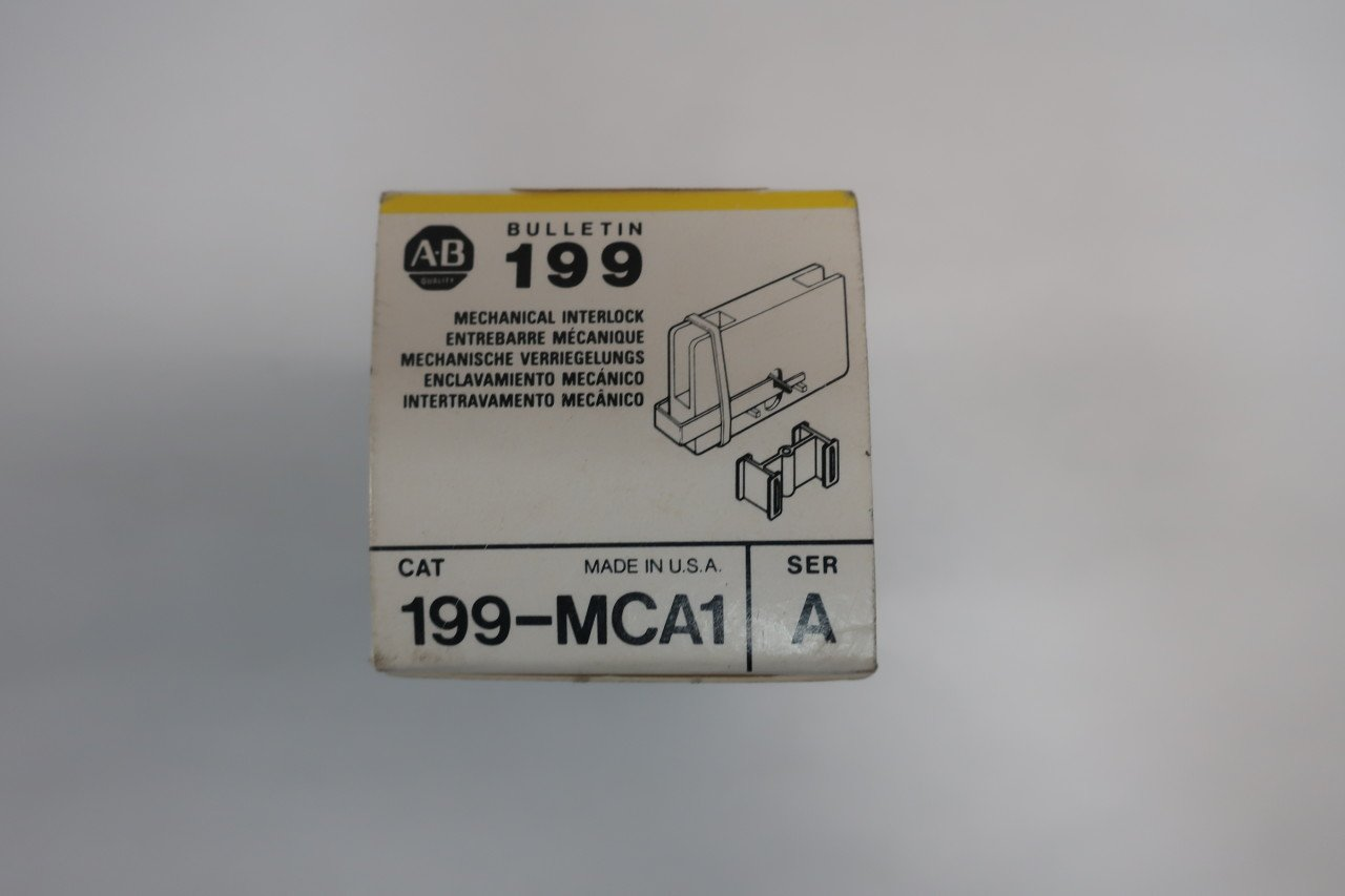 ALLEN BRADLEY 199-MCA1 Mechanical Interlock Auxiliary Contact SER A D619577: Amazon.com: Industrial & Scientific
