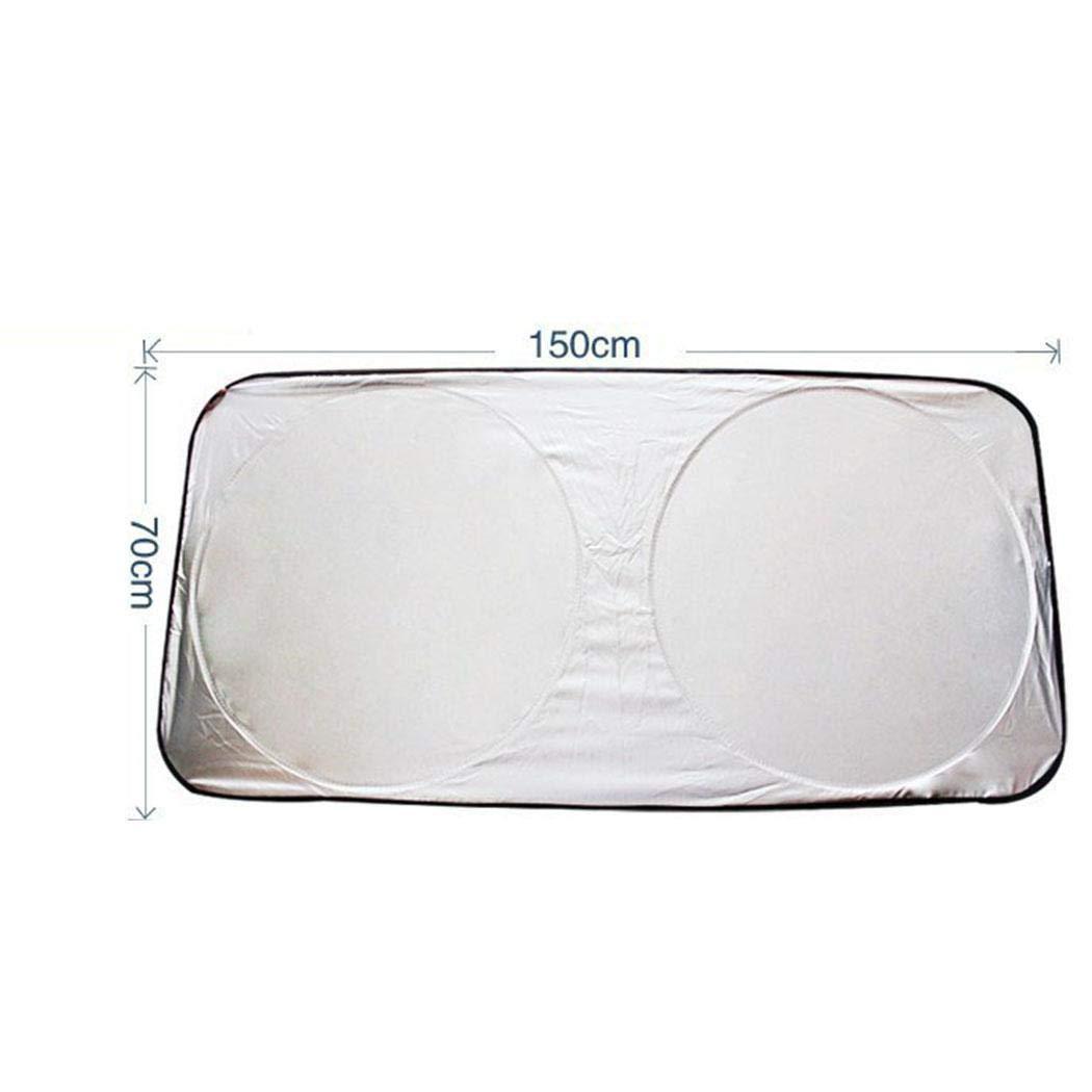 Staywe 150 x 70 cm Pratico Isolante Riflettente Parabrezza per Auto Parasole Protezione per Parasole Alette Parasole