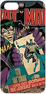 The Joker iPhone 5 Case Dc Comics Batman Joker Poker Case Cover for iPhone 5 at NewOne