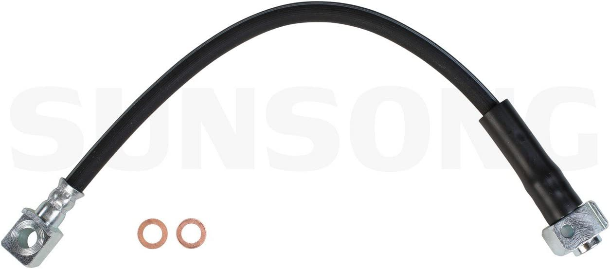 Amazon Com Sunsong 2202644 Brake Hydraulic Hose Automotive