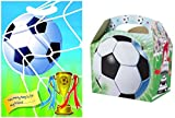 20 Football Party Food Boxes With Matching Football Loot Bags