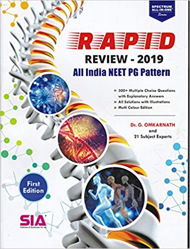 Amazon In Buy Rapid Review 2019 All India Neet Pg Pattern Book