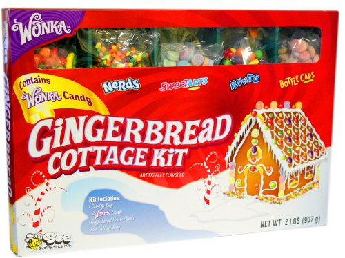 Wonka Gingerbread Cottage Candy