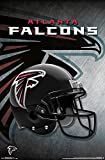 Trends International RP14980 Wall Poster Atlanta Falcons Helmet,,22.375