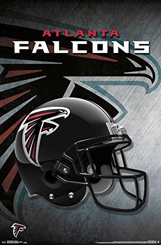 Trends International Atlanta Falcons Helmet Wall Poster 22.375