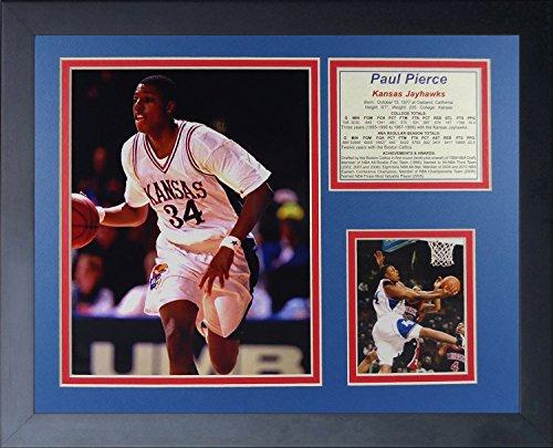 "Legends Never Die Paul Pierce Kansas Jayhawks Collage Photo Frame, 11"" x 14"""