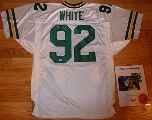 Signed Reggie White Jersey - Vintage Y06334 - PSA/DNA Certified - Autographed (Reggie White Jersey)