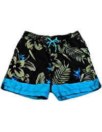 SLR BRANDS Athletic Mens Swim Trunks Quickly Drying Flamingo Printed Board Shorts