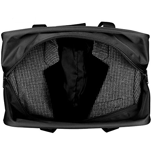Hanke Expandable Foldable Suitcase Luggage Rolling Travel Bag Duffel Garment Tote Bag for Men Women by Hanke (Image #9)