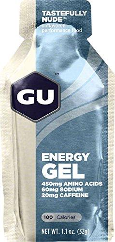 GU Original Sports Nutrition Energy Gel, Tastefully Nude, 1.1 Ounce, 24-Count (Gu Energy Labs Original compare prices)