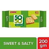 Britannia 50-50  Sweet & Salty Biscuits, 200g