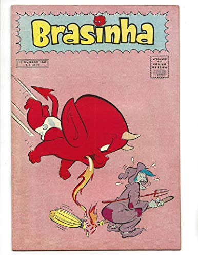 Brasinha #2 1963 Brazilian Hot Stuff Flamed Out Witch Cover (Flamed Cover)