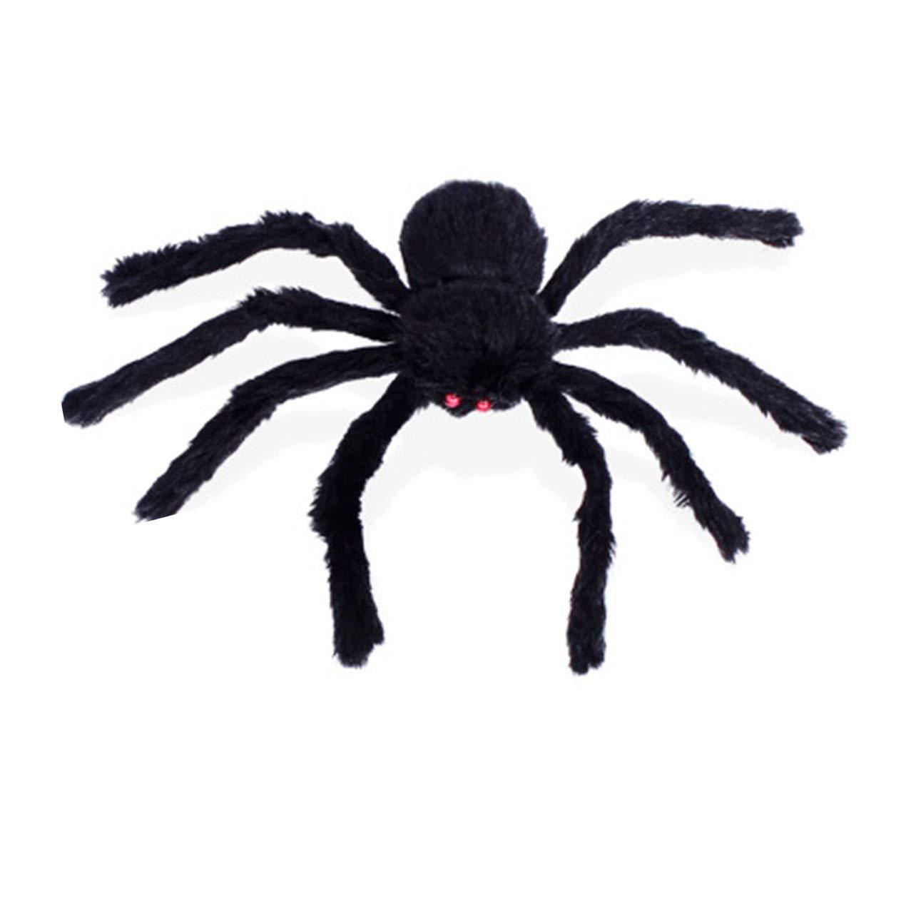Dooret Creativo de Halloween simulado araña Falsa para Las Casas encantadas Decoraciones de la casa encantada araña de Peluche Juguetes difíciles