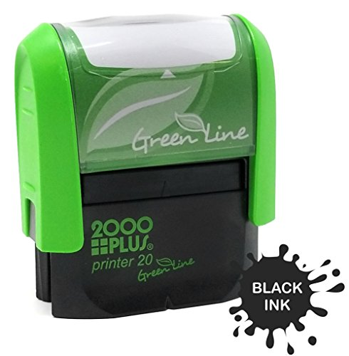 Custom Self Ink - Custom Self Inking Rubber Stamp - 1 Line (Black)