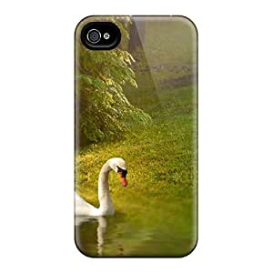 Fashion Phone Lovely Swan Case For Samsung Galaxy S5 Mini Case Cover / Perfect Case Cover